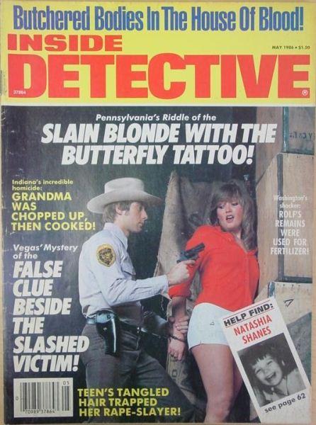 Crime Magazines 1986-05